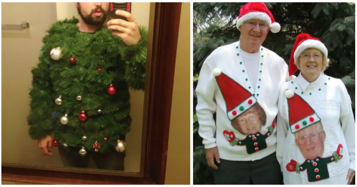 60 people who crushed it with their creative ugly Christmas