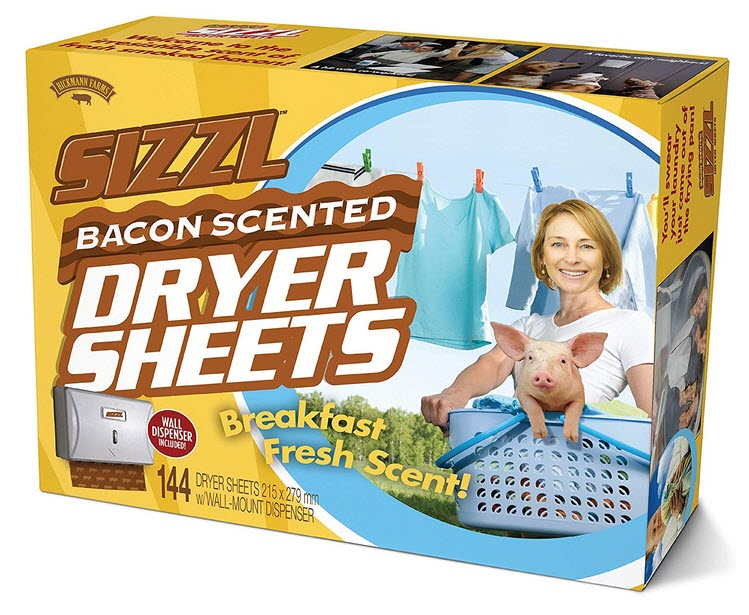 Bacon_Scented_Dryer_Sheets