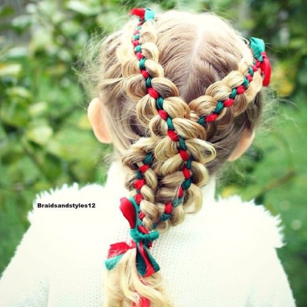 50 Fun And Festive Christmas Hairstyles