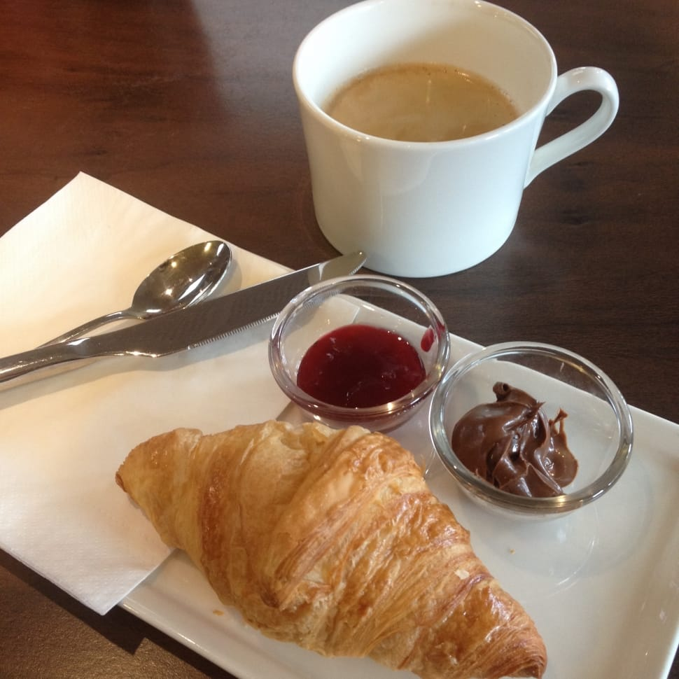http://www.peakpx.com/478256/croissant-chocolate-dip-ketchup-spoon-knife-and-white-ceramic-cup