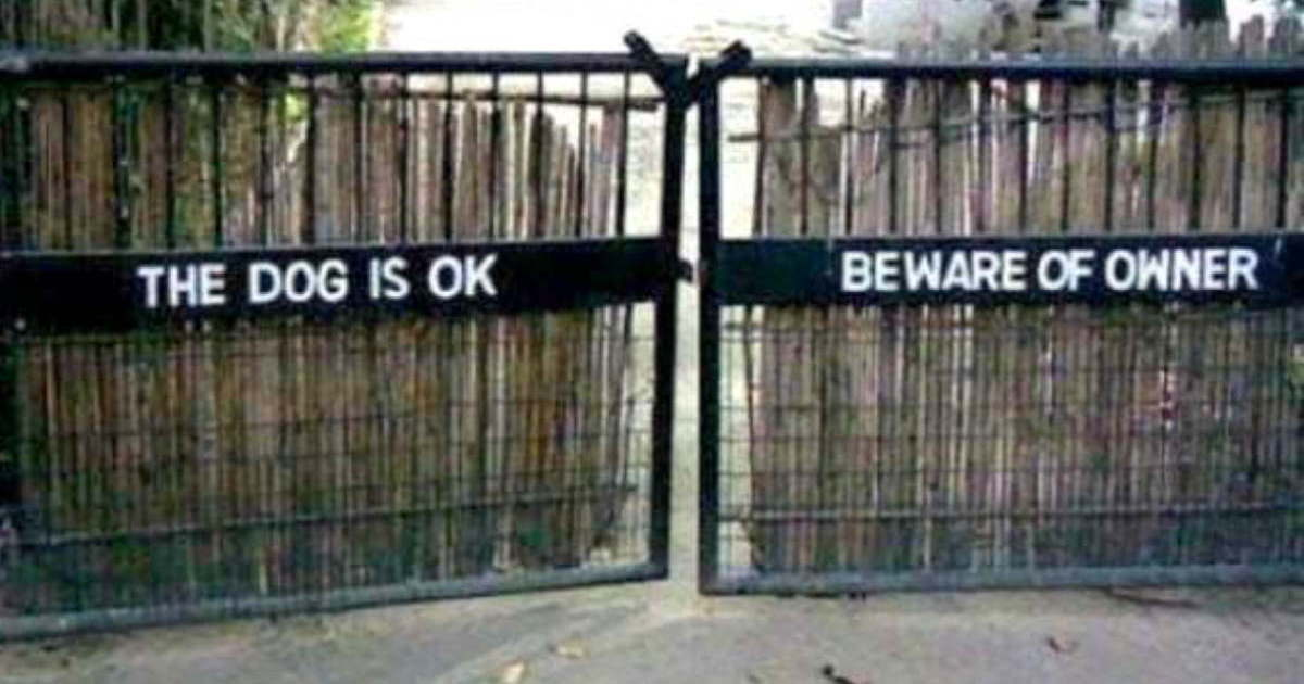 50 Warning Signs That Are Downright Funny