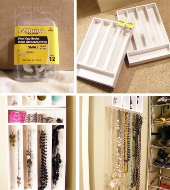 65 Clever Ways To Store Jewelry So Your Necklaces Won T Tangle And You Can Find Earring Backs