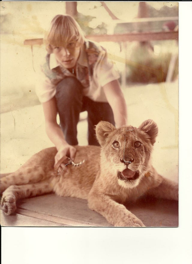 https://www.reddit.com/r/OldSchoolCool/comments/57ovzb/my_father_and_his_pet_lion_priscilla_california/