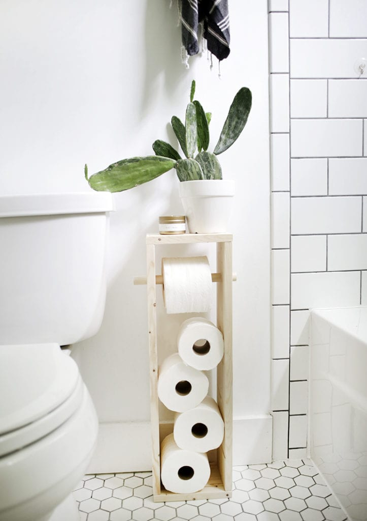 40 Creative Toilet Paper Storage Ideas For Small Spaces