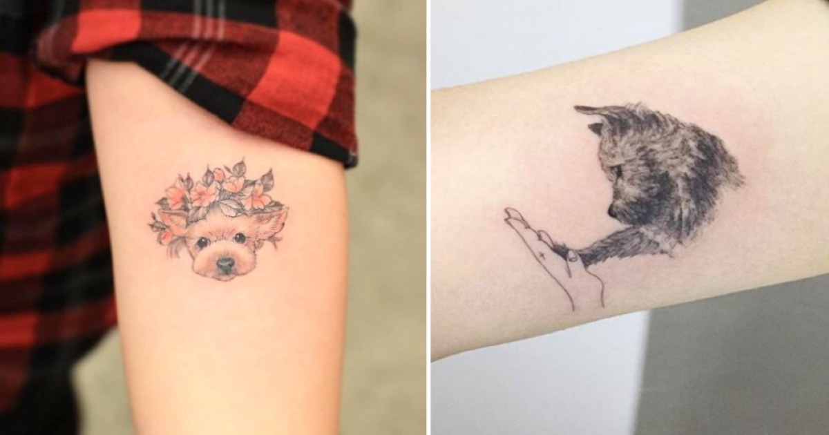 75 Of The Most Heart Melting Dog Tattoos Ever