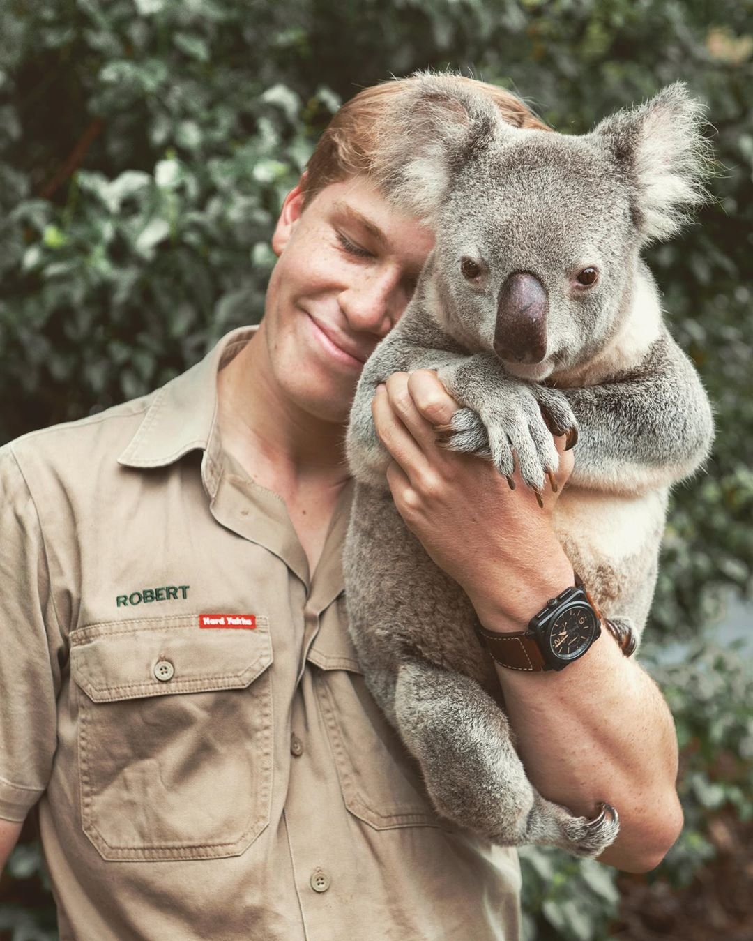 Steve Irwin S Son Recreates Photos His Father Took And People Are Astounded By The Resemblance
