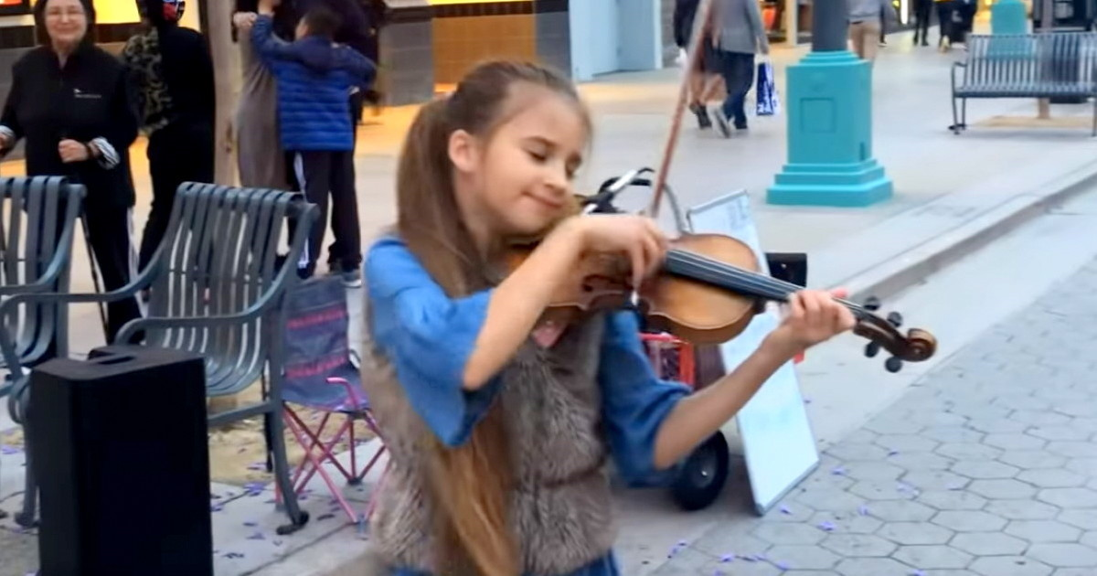Young Violinist Performs Delicately Beautiful Cover Of Elvis Song