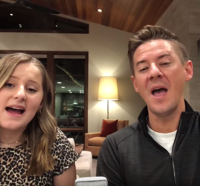 """Father And Daughter Sing Beautiful Rendition Of """"A Million"""