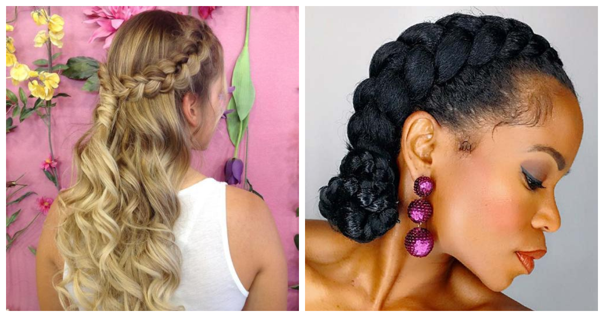 60 Easy Yet Beautiful Braid Hairstyles To Try At Home