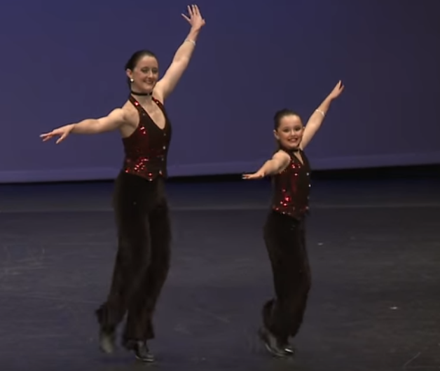 Tap Dancers Light Up Floor With Dazzling Routine