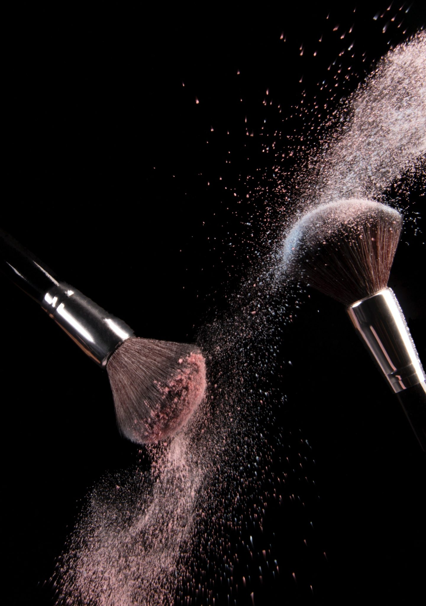 https://www.pexels.com/photo/cosmetics-makeup-brushes-and-powder-dust-explosion-1926620/