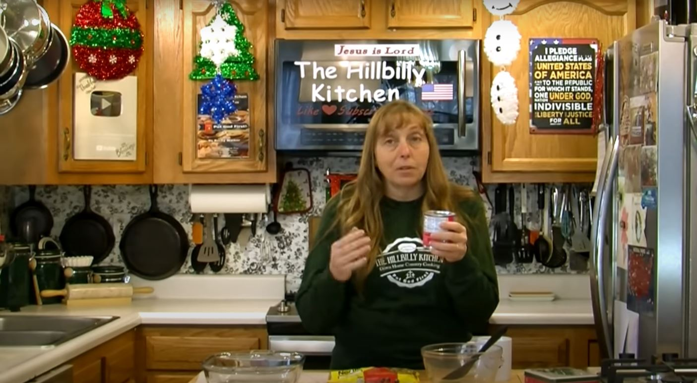 Mom In Her Hillbilly Kitchen Shows How To Make Delicious Easy 2 Ingredient Fudge